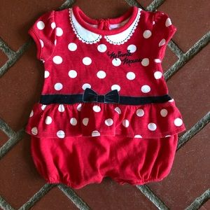 Minnie Mouse Costume Bodysuit